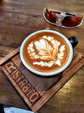 Award winning latte art