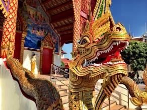 Wat (Temple) entrance