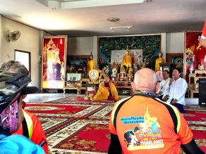 At the Wat for prayers