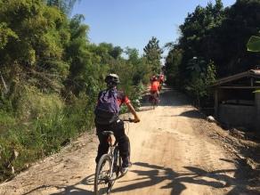 Small village trail
