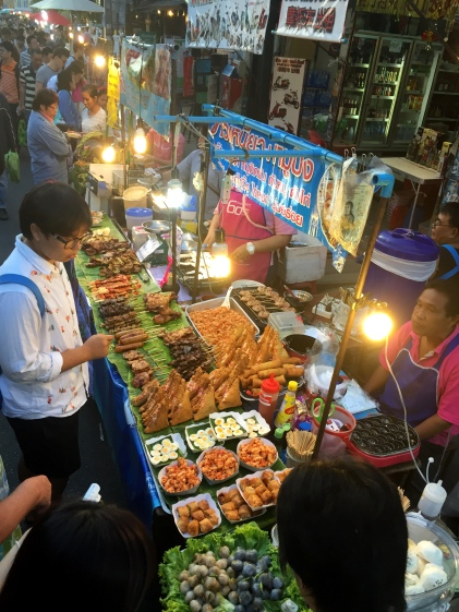 Food at the Sunday Market