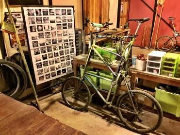 A double decker bike