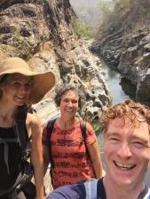 Jenny, Mary and I at Ob Khan National Park