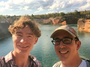 A client and I at the Quarry