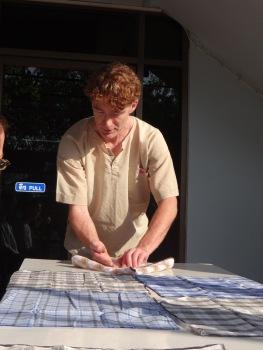 Teaching the Pinwheel fold