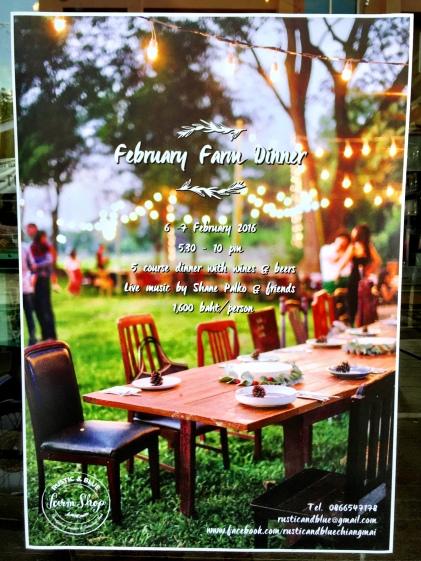 Poster for Farm Dinner