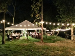tent dining room