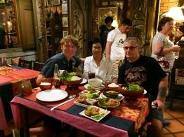 Noi, Andreas and I at Huen Phon