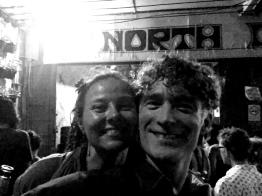 Nicole and I at North Gate Jazz Club