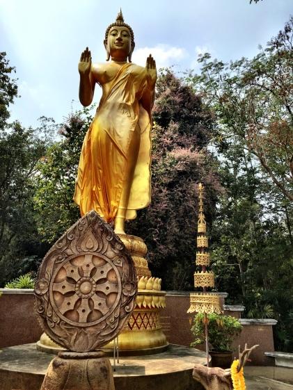 Buddha at Huay Tung Tao Lake