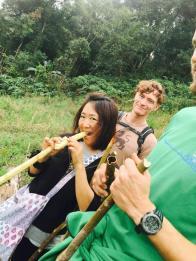 Sugar cane frenzy...