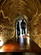 Tunnels at Umong Wat