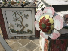 Tiles on Wat Arun