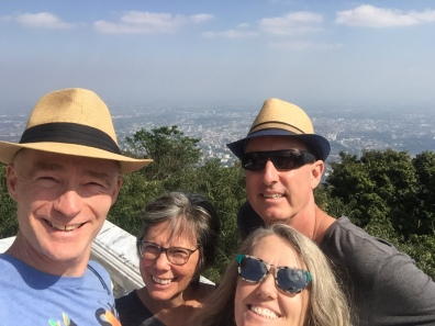 View from Doi Sutep over Chiang Mai