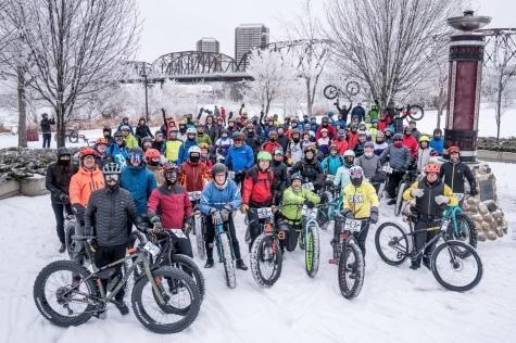 Global Fat Bike Day, Saskatoon